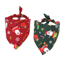 Bandage Grooming-Accessories Pet-Scarf Dogs Small Christmas Fashion Triangular for Pug