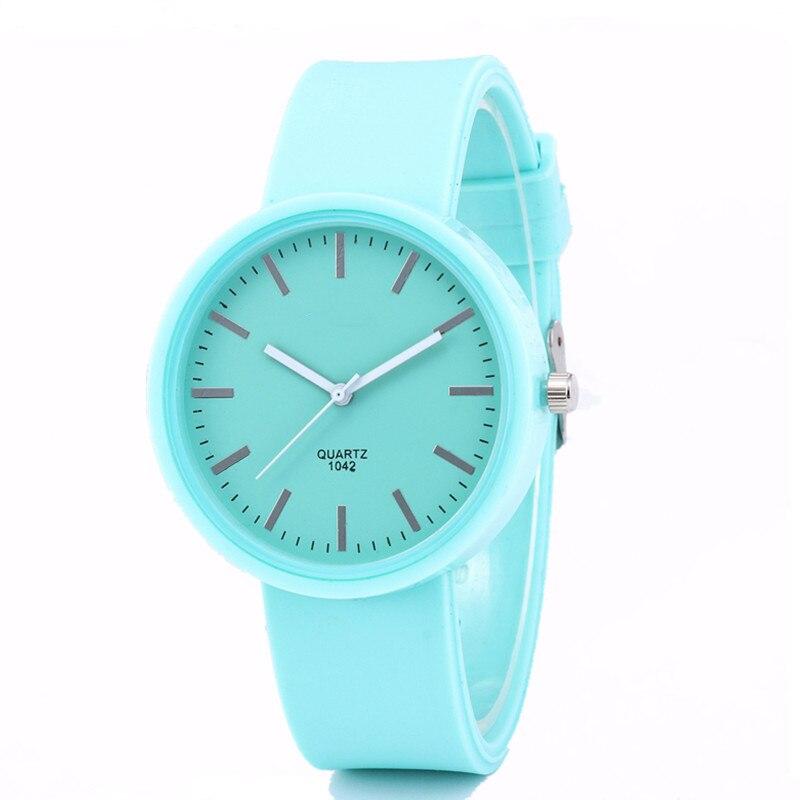 שעון לנשים סיליקון ג'לי  Reloj Mujer  3
