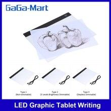 Tavolo da disegno tavoletta scrittura pittura scatola luminosa tavolo da tracciamento blocchi per copia tavoletta da disegno digitale Artcraft A4 tavolo da copia tavolo LED