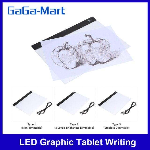 Zeichnung Board Tablet Schreiben Malerei Licht Box Tracing Board Kopie Pads Digitale Zeichnung Tablet Artcraft A4 Kopie Tabelle LED Board