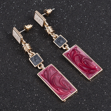 New Fashion Gold Color Earring For Women Everyday Drop Earring Pendientes Mujer Moda for Women Earrings Personality Gift Jewelry
