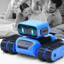 Intelligent Induction Robot DIY Assembled Electric Follow Robot With Gesture Sensor Obstacle Avoidance Kids Educational Toys(China)