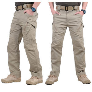 Trousers Cargo-Pants SWAT Tactical Flexible Stretch Army XXXL Combat Cotton Men Ix9-City