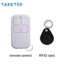 Горячая распродажа высокое качество беспроводной пульт дистанционного управления и RFID карты для домашней безопасности системы сигнализации цена