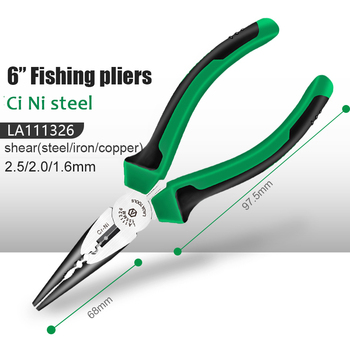 LAOA Industrial Wire Cutters Cr-Ni Fishing Pliers Electrician Tools Diagonal Pliers 5