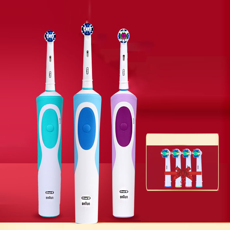 Oral B D12 Series 3D Electric Toothbrush Teeth Whitening Rechargeable Tooth Brush German technology Electric Toothbrushes image