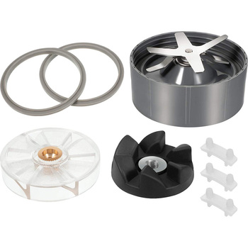 8 Pieces Blender Replacement Parts for Nutribullet 600W 900W Blender with Ice Blade/Rubber Sealing Gasket/Shock Pad Ect high quality blade jar container and tamper for jtc blender 010 767 800 g5200 g2001 for vitamix blender parts free shipping