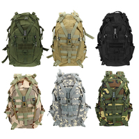 20 35L Large Waterproof Camping Backpack Military Travel Bags for Men Travel Tactical Army Molle Climbing Rucksack Hiking Bag|Climbing Bags| |  -