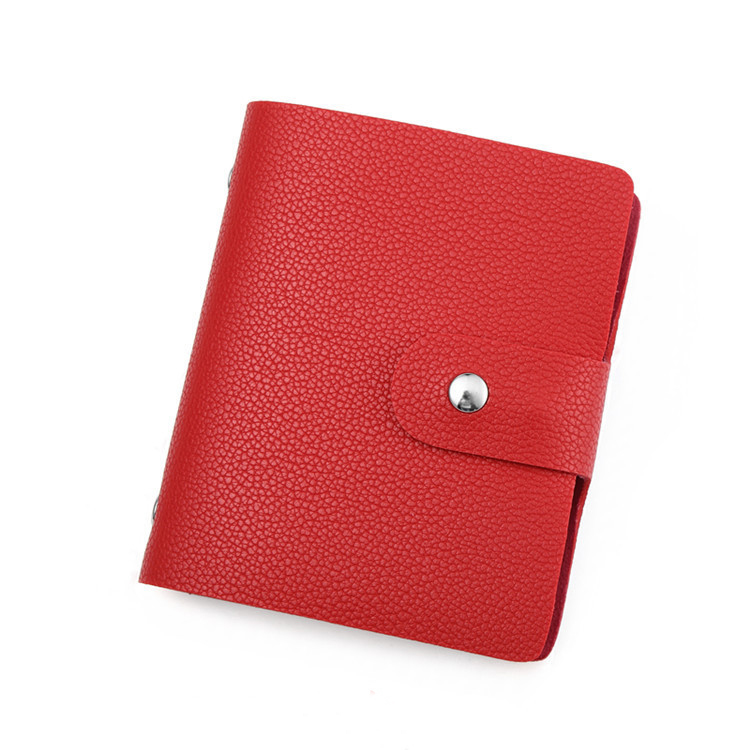 2019 Fashion PU Leather Function 60 Bits Card Case Business Card Holder Men Women Credit Card Holder Bag ID Passport Card Wallet in Card ID Holders from Luggage Bags