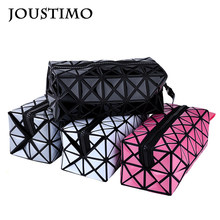 2019 Luxury Brand Geometric Clutch Purses Women Handbags Fashion Diamond Lattice Long Box Phone Wallets Ladies Evening Flap Bags(China)