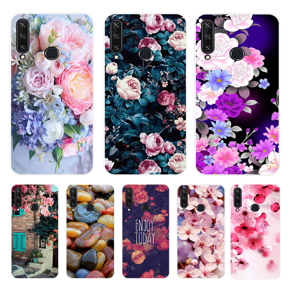 for <font><b>Huawei</b></font> <font><b>Y6</b></font> <font><b>2019</b></font> Case Cover Soft Silicone Cute TPU Back For <font><b>Fundas</b></font> <font><b>Huawei</b></font> <font><b>Y6</b></font> <font><b>2019</b></font> MRD-LX1 MRD-LX1F Y6Prime Phone Case Y6P image