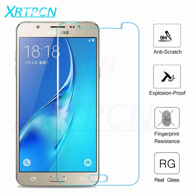 С уровнем твердости 9H закаленное Стекло на для Samsung Galaxy A3 A5 A7 J3 J5 J7 2015 2016 2017 2018 корпусы для телефонов стандарты Экран протектор Защитная пленк...