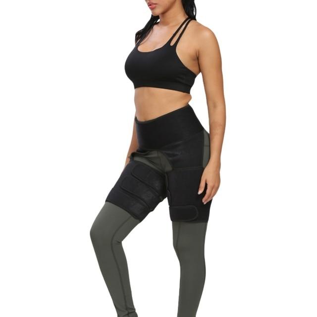 Protection belt WAIST SECRET Slim Thigh Trimmer Leg Shapers Slender Slimming Belt  Sweat Shapewear Toned Muscles Band Thigh Slim 3