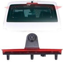 Feu de freinage CCD HD pour voiture, caméra de recul pour stationnement, pour VW Volkswagen T5 Bus Transporter van 3 bremlich braje Light 2003 – 2014