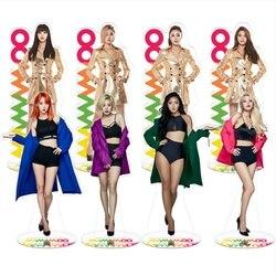 Kpop MAMAMOO члены стоя фигурку акриловая кукла 21 см Hwa Sa Солнечный декор стола