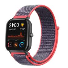 High Quality  Replacement Nylon Watch Stap For Huami Amazfit GTS Band 20mm Ultra Soft Loop Canvas Replaceable Strap
