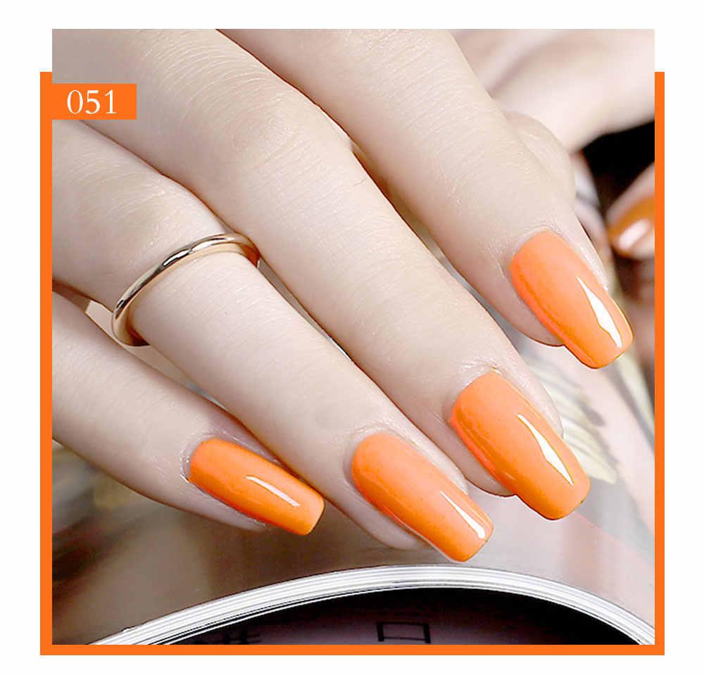 Beautilux Nagel Gel Polnisch Sommer Gelb Orange Farbe Sammlung Neon Nägel Kunst Gele Lack UV LED Nagel Lack Versorgung 10ml