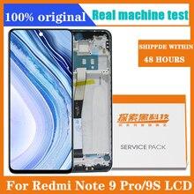 Xiaomi Redmi Note 6.67 인치 디스플레이 교체 Redmi Note 9 Pro 디스플레이 용 9s LCD 터치 스크린 디지타이저 어셈블리