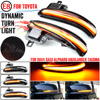 Miroir latéral LED dynamique clignotant séquentiel pour Toyota Alphard Vellfire Tacoma N300 RAV4 XA50 Highlander XU70 2020