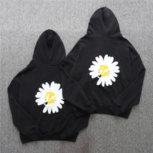 Peaceminusone Fragment Hoodies Men Women Streetwear Chrysanthemum Lightning Sweatshirts Hoodie