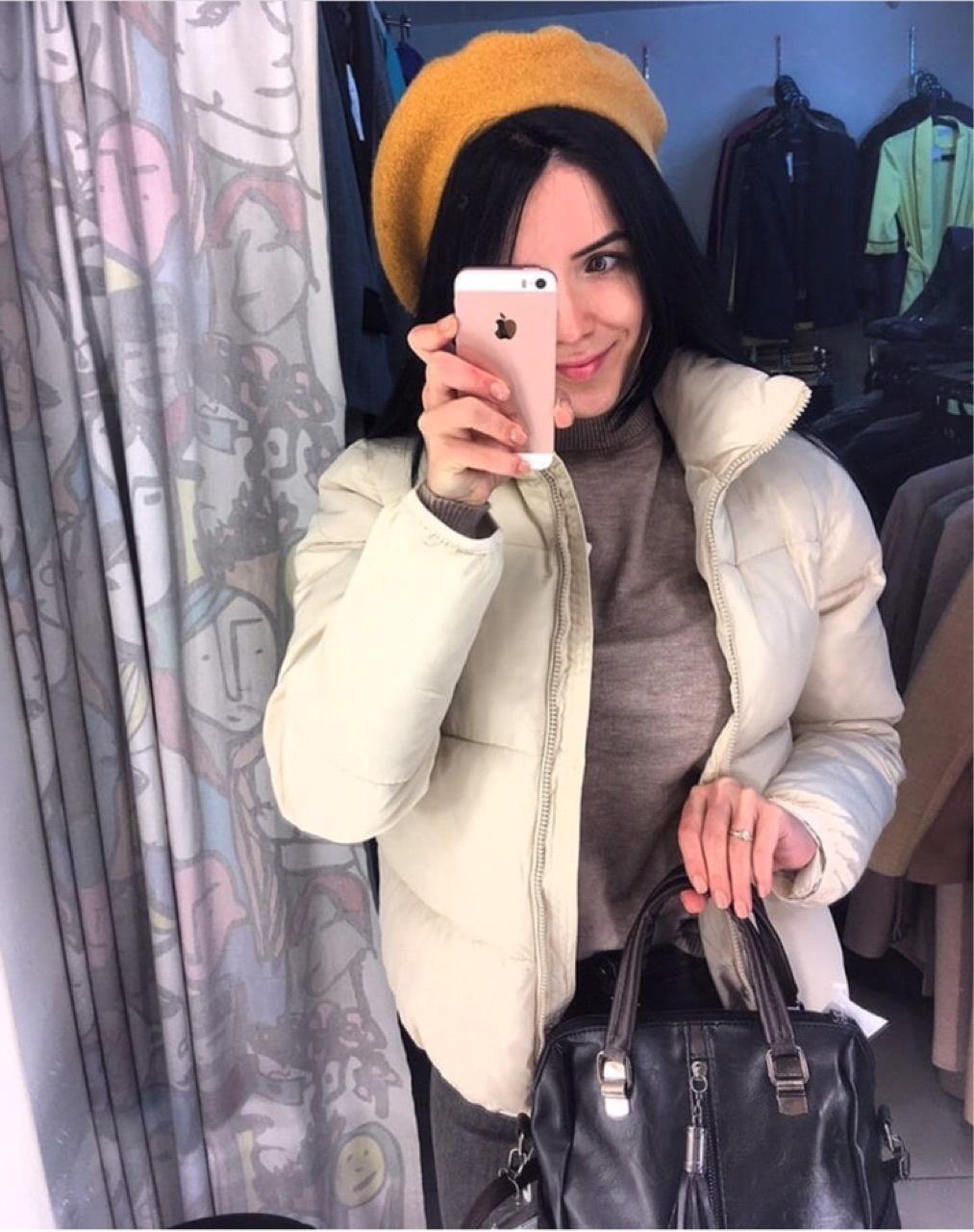 FORERUN Fashion Bubble Coat Solid Standard Collar Oversized Short Jacket Winter Autumn Female Puffer Jacket Parkas Mujer 19 17