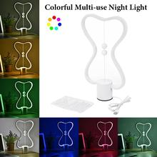 Colorful magnetic balance light…