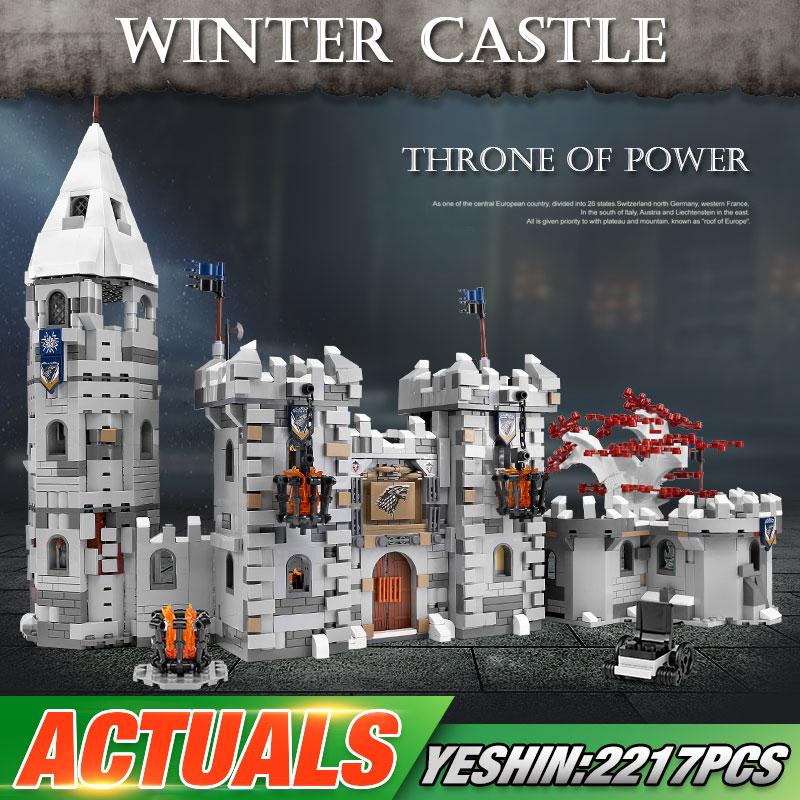 Yeshin K101 The MOC Winterfell Model Building Blocks