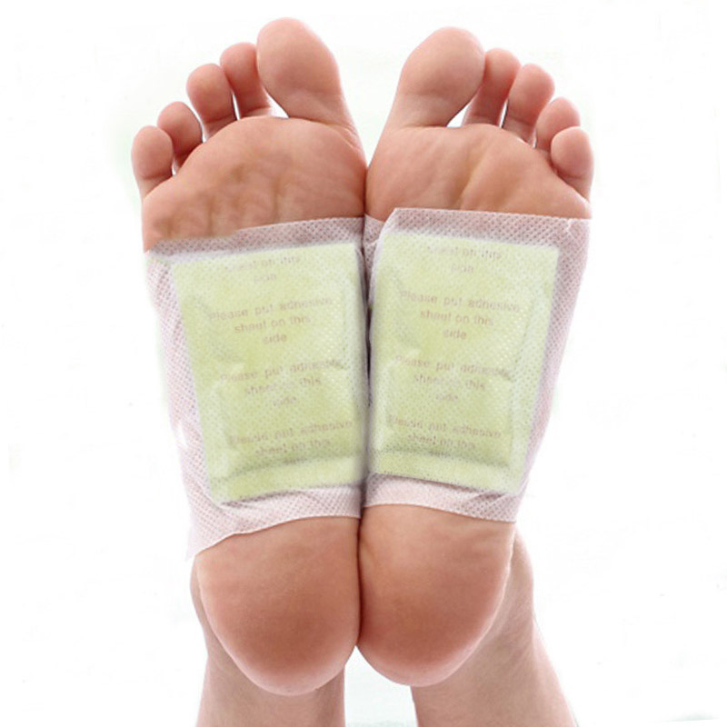 200pcs/lot Kinoki Detox Foot Patchs With Adhersive Foot Care Tool Improve Sleep Bamboo Pads For Foot Detox