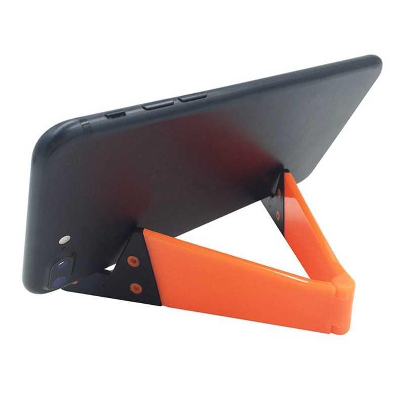 مصغرة 2019 جديد متعدد اللون اختياري اللون V على شكل كسول حامل هاتف المحمول ل iPhone6s 7 8p Xs ماكس Xr
