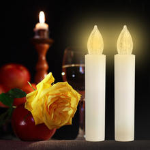 Flameless LED Candles Holiday Wedding Party Mother's Day Decor Battery Operated photophore led For Dinner Party Decoration