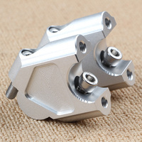 Motorcycle Cnc Handlebar Heightening Clamps Code For Benelli Trk502 Adv