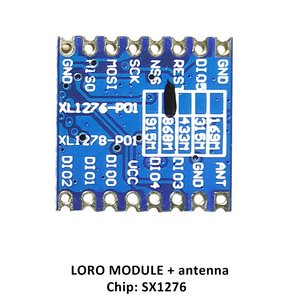 Image 5 - 2p 868MHz super low power RF LoRa module SX1276 chip Long Distance communication Receiver and Transmitter SPI IOT with antenna