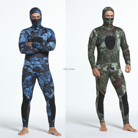 3mm Diving Suit Spearfishing Neoprene Swimming Full Body Swimsuit Spear Fishing Camo Men Underwater Hunting Surfing Wetsuits