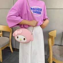 Funda de teléfono con dibujos animados de Japón, bolso de teléfono con dibujos animados, suministros diarios, bolsos de hombro tipo bandolera, bolsa Universal