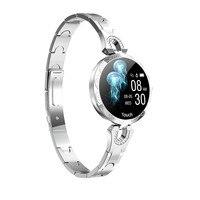 AK15 Smart Watch Women 2019 New ladies fashion Waterproof blood pressure blood Bluetooth Fitness Tracker watch
