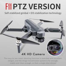 SJRC F11 PRO GPS Drone z Wifi FPV 4K kamera HD dwuosiowy antywstrząsowy bezszczotkowy Quadcopter Vs Zino SG906 Pro 2 Dron tanie tanio Z włókna węglowego Z tworzywa sztucznego Metal CN (pochodzenie) F11 F11 Pro F11S 4K Pro Ready-to-go 30 mins HELICOPTER