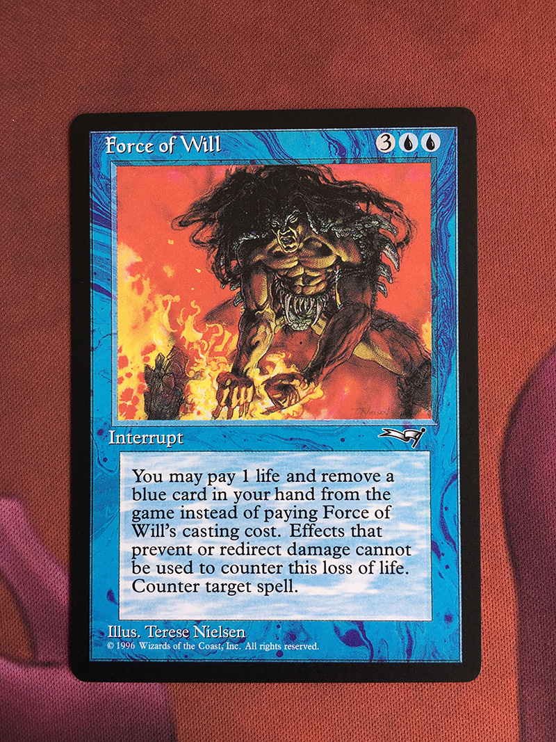 Force Of WillAlliances Magician ProxyKing 8.0 VIP The Proxy Cards To Gathering Every Single Mg Card.