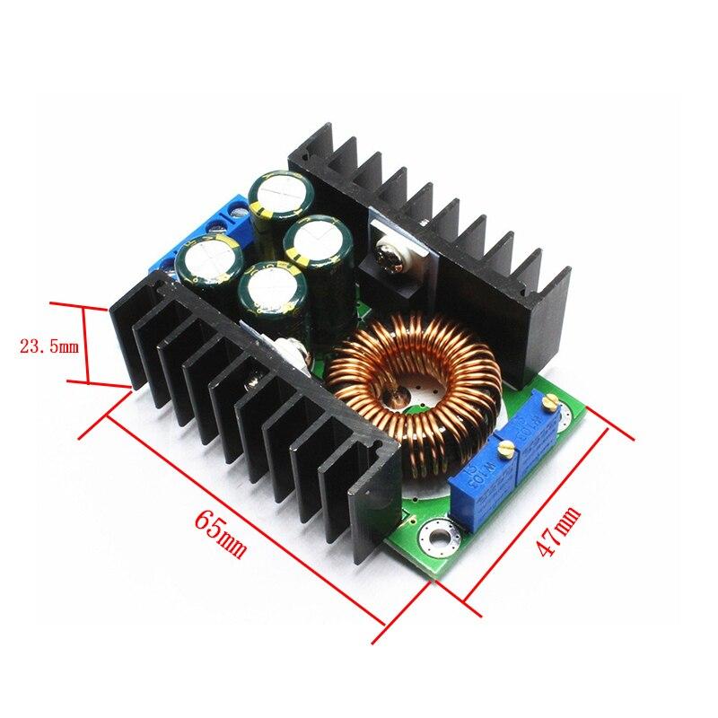 1 pièces/lot CC 9A 300W convertisseur abaisseur 5-40V à 1.2-35V module d'alimentation