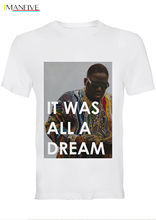 BIG Notorious Biggie It Was All A Dream Cotton Crew Neck T-Shirt / 46_MTSF T Shirt Discount 100 % For MenS