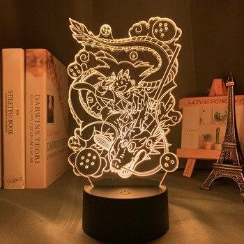 Japanse animatie draken 3D Led Lamp/Nachtlamp 2