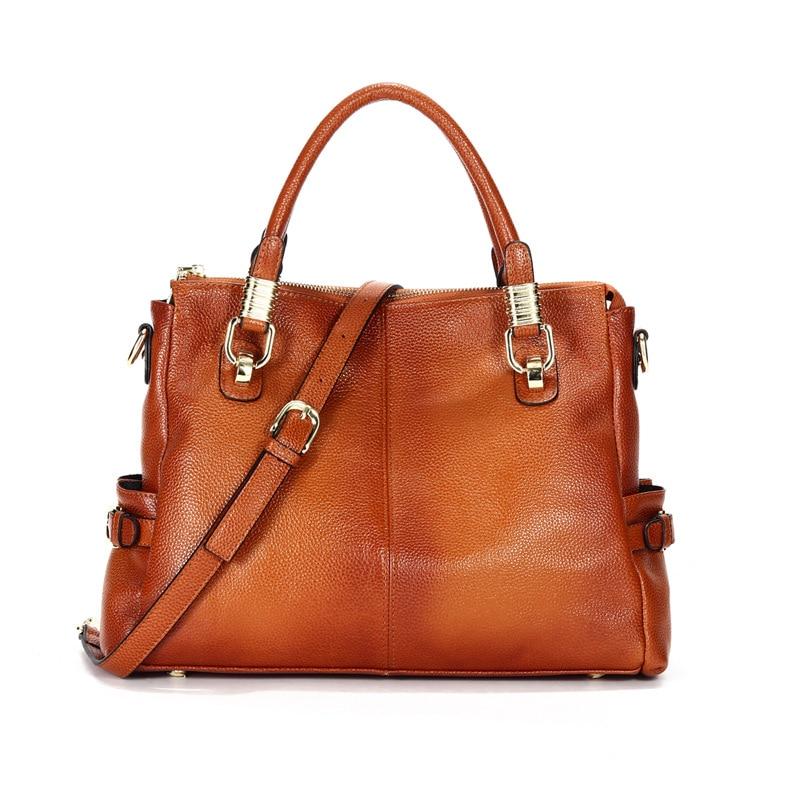 Women's Leather Tote Bag Women Handbags Female Designer Large Capacity Leisure Shoulder Bags Fashion Ladies Purses Bolsas C1262