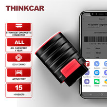 Thinkcar Thinkdiag New 4.0 Version Full Software 1 Year Free Update Full OBD2 Code Reader Bluetooth Android IOS Scanner Tool