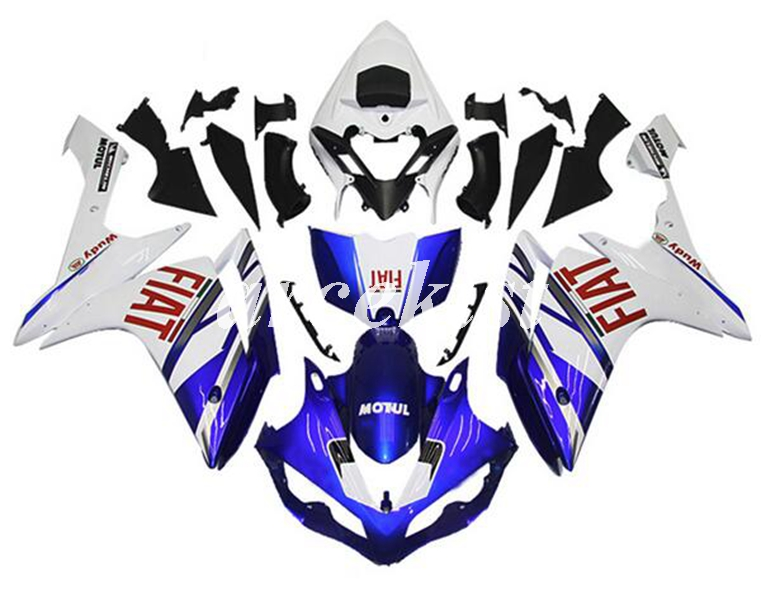 4 Free Gifts New ABS Motorcycle Injection Moold <font><b>Fairings</b></font> Fit For <font><b>Yamaha</b></font> YZF <font><b>R1</b></font> 2007 <font><b>2008</b></font> 07 08 bodywork set custom Bleu white image