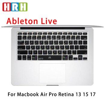 HRH Ableton Live-Película protectora para teclado de EE. UU., transparente, funda de...