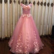 Vestido para quinceañeras es el hombro fiesta De encaje De lujo piso-longitud vestido De Vintage, Vestidos De 15 años vestido para quinceañeras