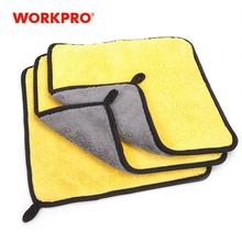 WORKPRO 3PC/Lot Double Side Towel for Car Wash Main