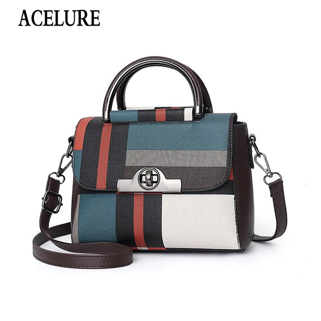 ACELURE New Handbags for Women Brand Leather Handbag High Quality Small Bags Lady Shoulder Bag Casual Messenger Bag Shopping Bag