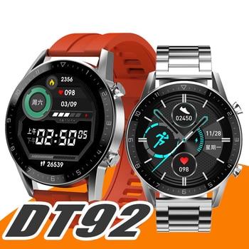 2020 New DT92 Smart Watch Men Women Bluetooth Call IP68 Fitness Tracker Heart Rate Blood Pressure Oxygen Business Smartwatch - discount item  31% OFF Smart Electronics