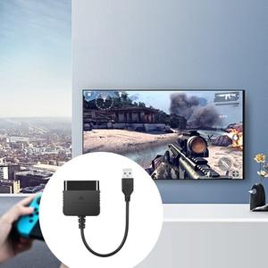 Image 3 - Adaptador de controlador de ps1 para sony, gamepad, dualshock 2, para ps3, pc, jogos, conversor sem condutor de motorista