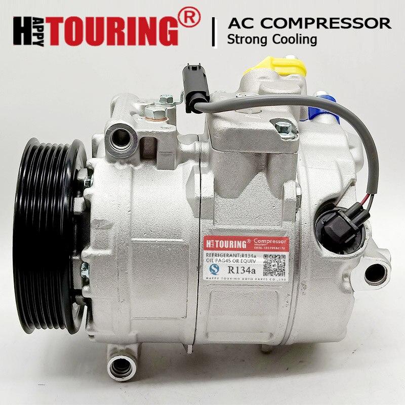 DELPHI Klimaanlage Kompressor Für BMW E60 E61 E65 E66 E67 05-08 64526950152